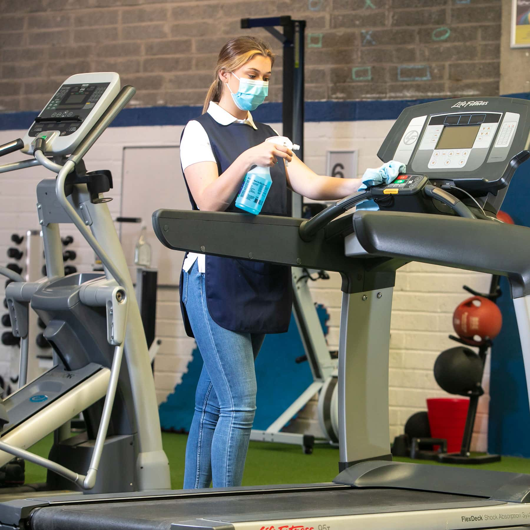 Covid proof your gym with effective cleaning