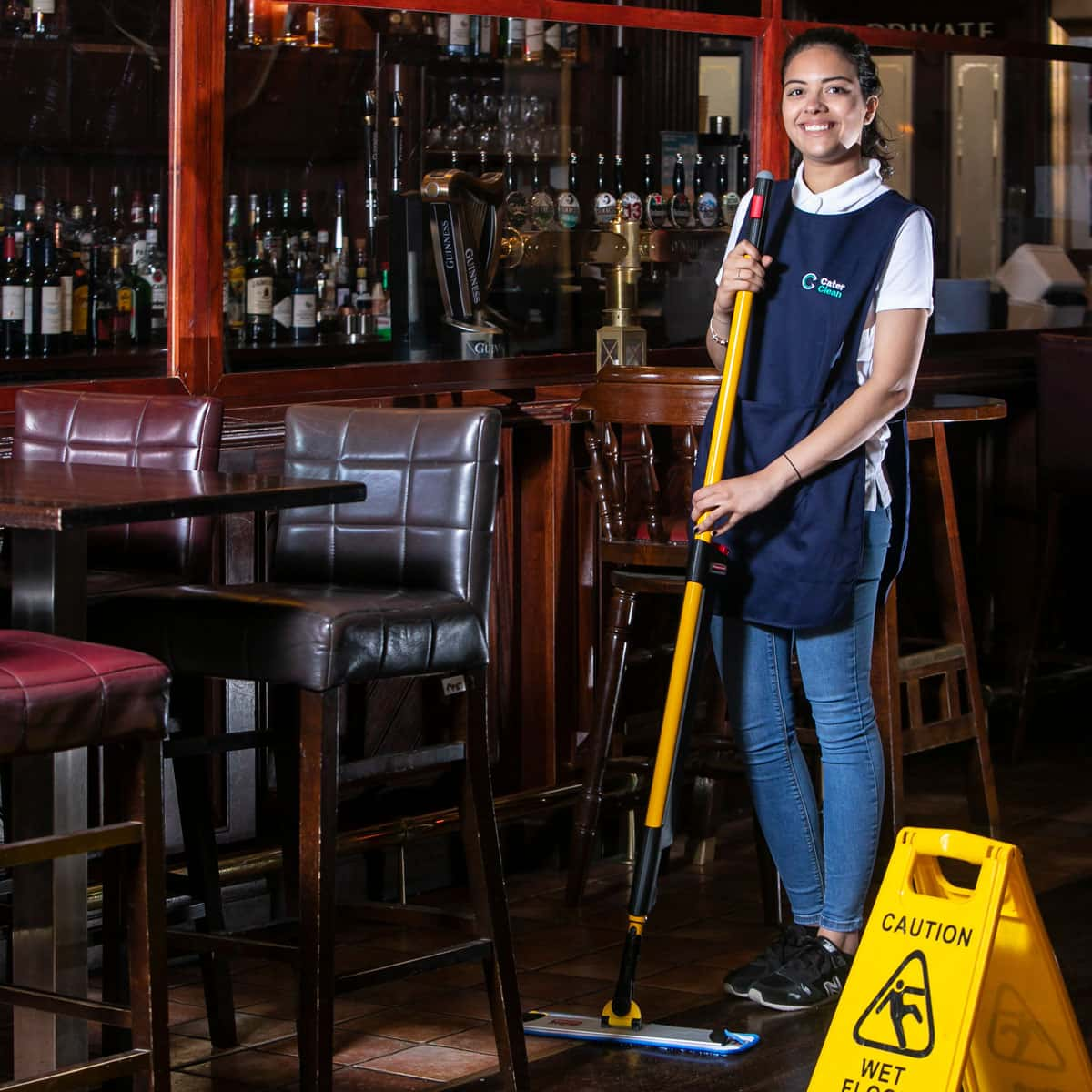 Cleaning for creches, schools and collees